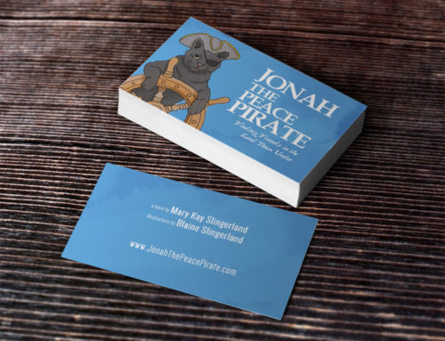 Jonah the Peace Pirate – Business Card