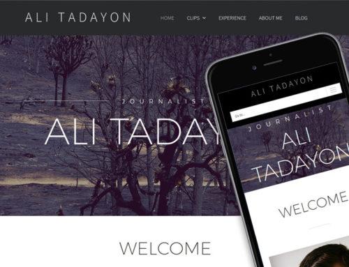 Journalist: Ali Tadayon